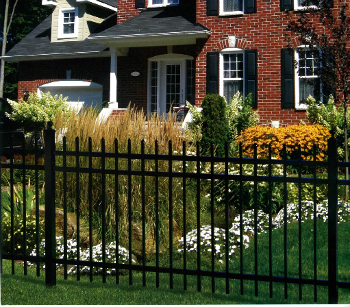 Image result for aluminum fencing for protecting your property
